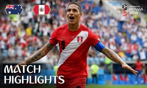 Avusturya 0 - 2 Peru - 2018 Dünya Kupası Maç Özeti
