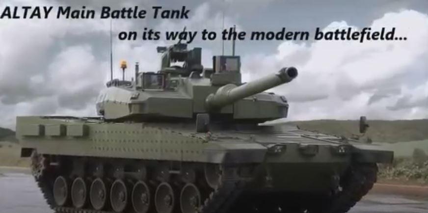 Ana Muharebe Tankı ALTAY - Turkish Main Battle Tank ALTAY