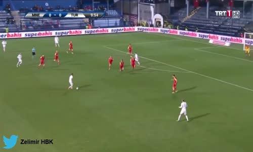 Karadağ 2-2 Türkiye Maç Özeti