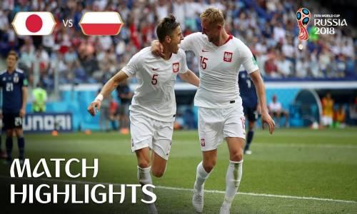 Japonya 0 - 1 Polonya - 2018 Dünya Kupası Maç Özeti