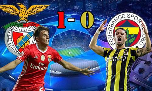 Benfica 1 - 0 Fenerbahçe Maç Özeti