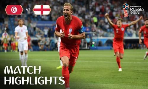 Tunus 1 - 2 İngiltere - 2018 Dünya Kupası Maç Özeti