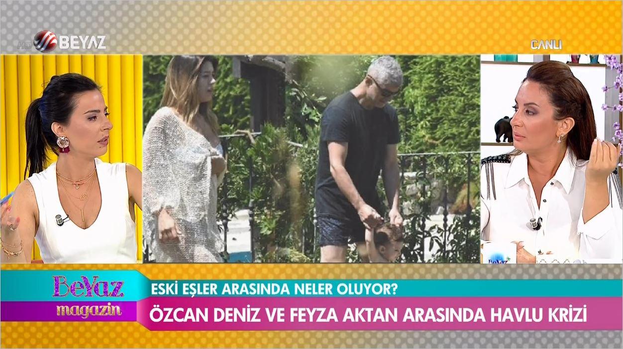 Boşanan Özcan Deniz İle Feyza Aktan El Ele Yakalandı