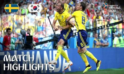 İsveç 1 - 0 Güney Kore - 2018 Dünya Kupası Maç Özeti