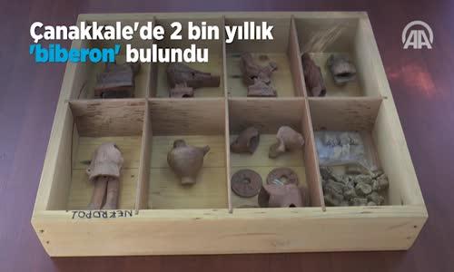 Çanakkale'de 2 Bin Yıllık Biberon Bulundu