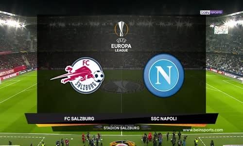 Red Bull Salzburg 3 - 1 Napoli Maç Özeti İzle