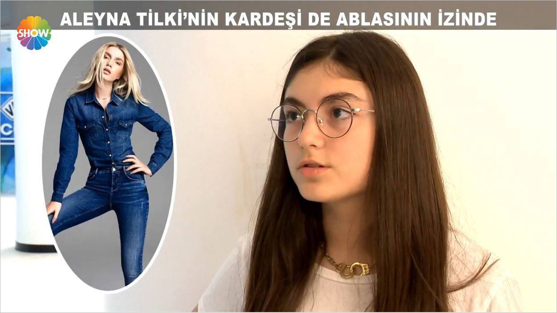Aleyna Tilki'nin Kardeşi Ablasının İzinde