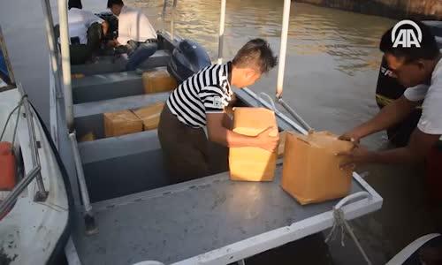 Tika'nın Arakan'a Yardımları Sürüyor