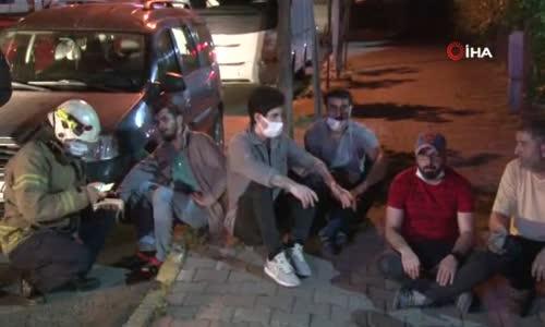 Pendik'te oto yedek parça atölyesinde yangın- 5 kişi hastaneye kaldırıldı