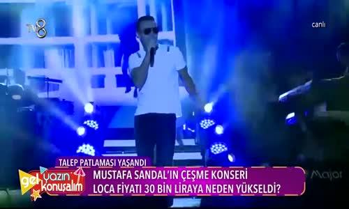 Mustafa Sandal'ın Dudak Uçuklatan Konser Fiyatı
