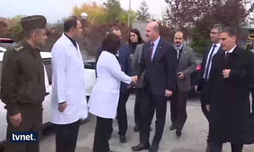 İçişleri Bakanı Soylu'dan Darbedilen Gazilere Ziyaret