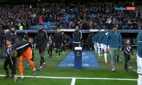 Real Madrid 3 - 1 Paris Saint-Germain Şampiyonlar Ligi Maç Özeti