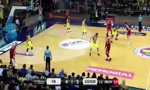 Fenerbahçe Ülker 92-74 Galatasaray Odeabank Maçın Özeti 13.11.2016