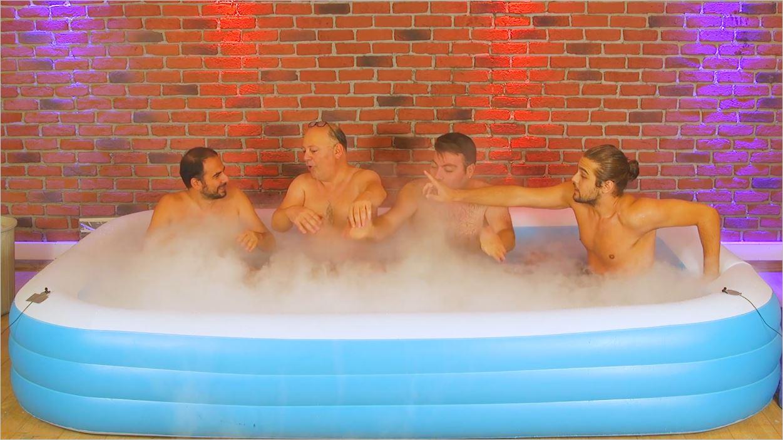 Buz Dolu Havuzda En Uzun Süre Kim Dayanacak
