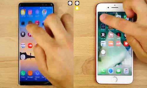 Galaxy Note 8 mi Iphone 7 Plus mı Daha Hızlı