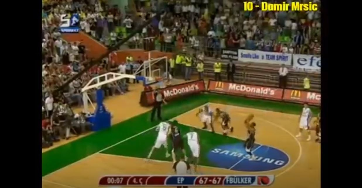 Fenerbahçe Basketbol Tarihinin En İyi 10 Son Saniye Basketi - TOP 10