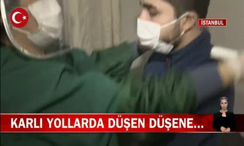 İstanbul'da Hastanelerde Ortopedi Servislerinde Kırık Çıkık Yoğunluğu! İşte Görüntüler