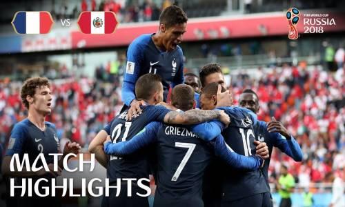 Fransa 1 - 0 Peru - 2018 Dünya Kupası Maç Özeti