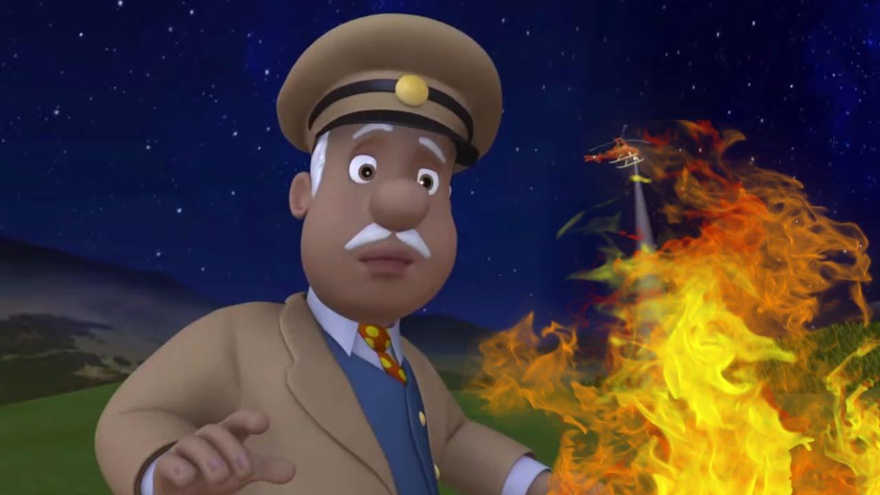 İtfaiyeci Sam - Gece Ateş