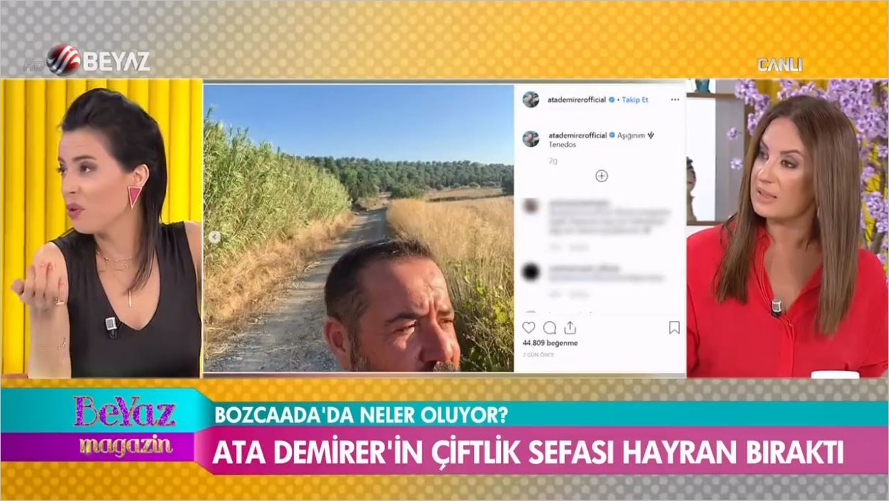 Ata Demirer'in Çiftlik Sefası Hayran Bıraktı