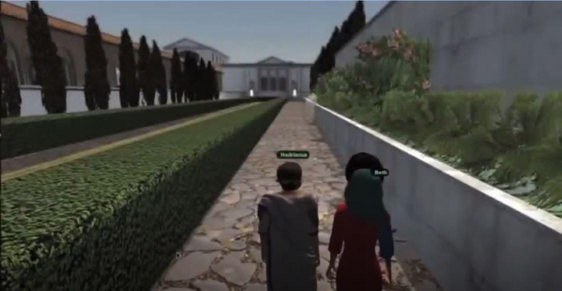 Sanal Tur - Hadrian Villası, Tivoli