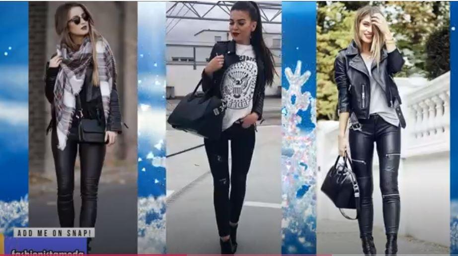 7eea37523ce29 Moda 2018 Kadınlar İçin En İyi Birleşmeler Kış Kıyafeti - Seyredelim.com
