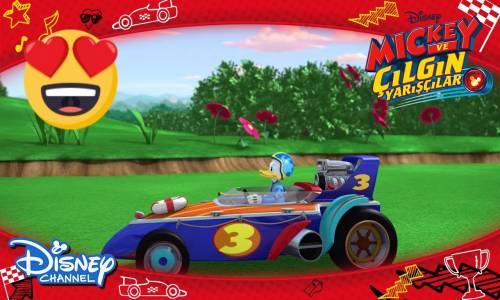 Mickey ve Çılgın Yarışçılar - Minicik Yarış Arabaları