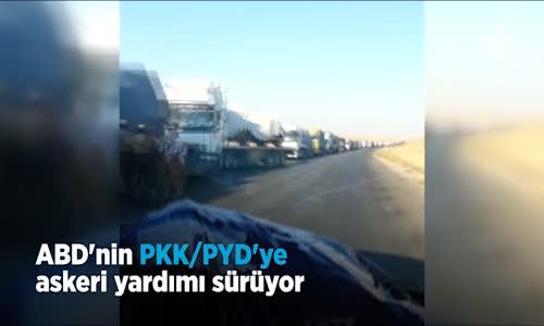 Abd'nin Pkk_Pyd'ye Askeri Yardımı Sürüyor