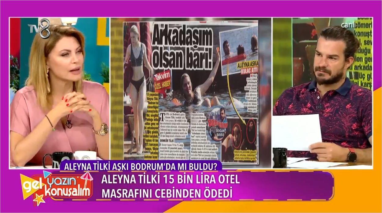 Aleyna Tilki Aşkı Bodrum'da Mı Buldu