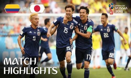 Kolombiya 1 - 2 Japonya - 2018 Dünya Kupası Maç Özeti