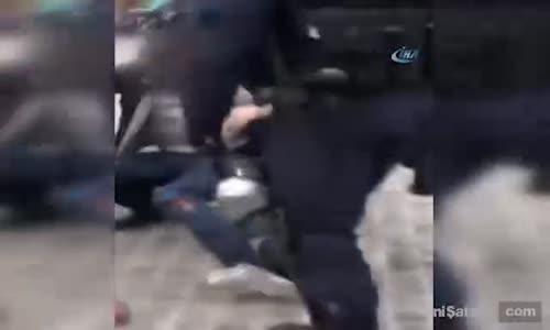 Macron'un Danışmanı Polis Kılığında Eylemci Dövdü