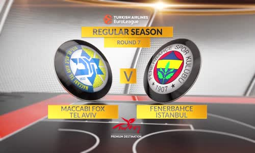 Highlights_ Maccabi FOX Tel Aviv-Fenerbahce Istanbul