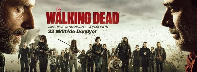 The Walking Dead 8.Sezon Tanıtım
