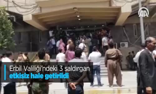 Erbil Valiliği'ndeki 3 Saldırgan Etkisiz Hale Getirildi