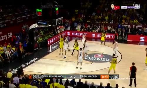 Fenerbahçe 84-75 Real Madrid  Fenerbahçe Final'de