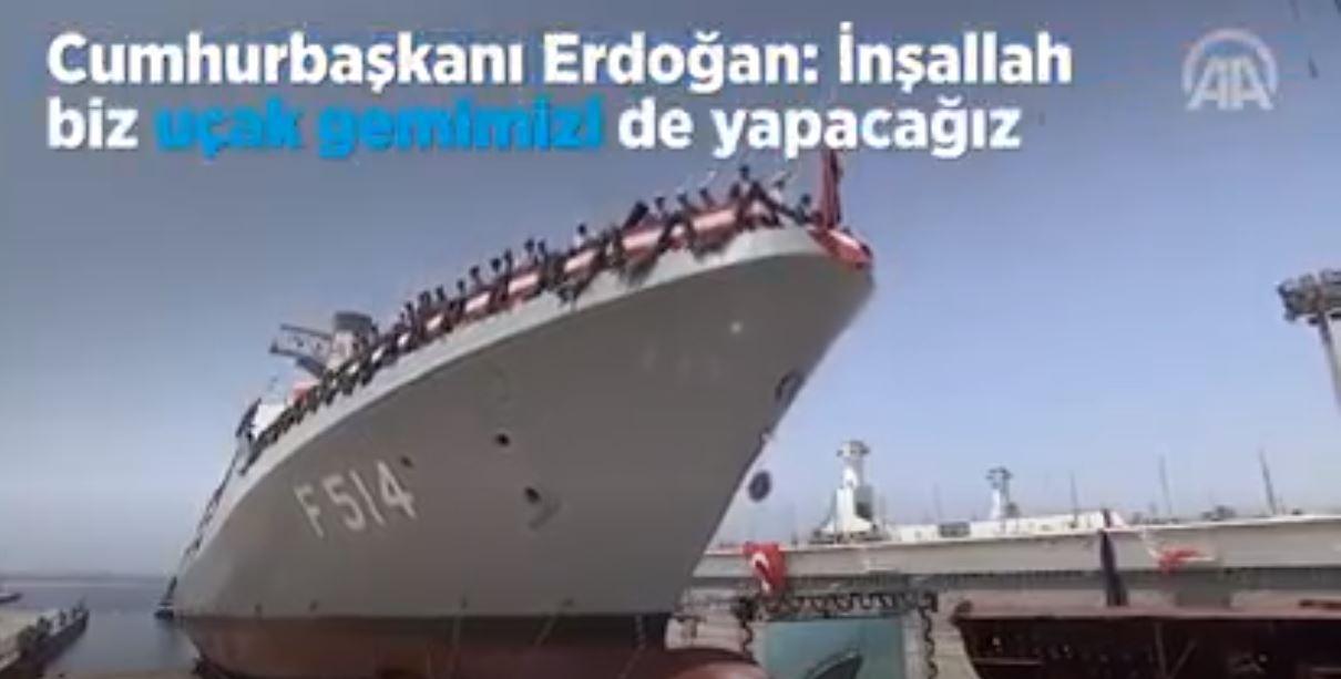İnşallah Biz Uçak Gemimizi De Yapacağız