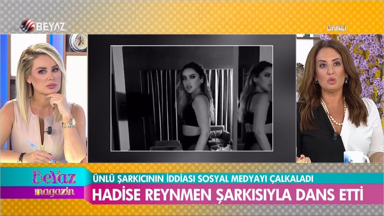 Hadise'nin Reynmen Şarkısıyla Dansı Sosyal Medyayı Salladı