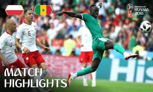 Polonya 1 - 2 Senegal - 2018 Dünya Kupası Maç Özeti