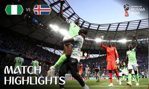 Nijerya 2 - 0 İzlanda - 2018 Dünya Kupası Maç Özeti