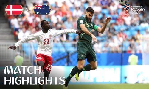Danimarka 1 - 0 Avusturya - 2018 Dünya Kupası Maç Özeti