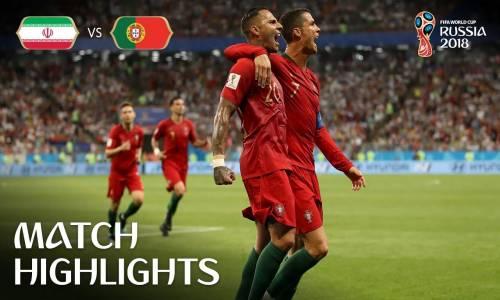 İran 1 - 1 Portekiz - 2018 Dünya Kupası Maç Özeti