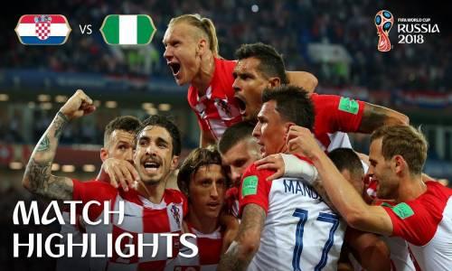 Hırvatistan 2 - 0 Nijerya - 2018 Dünya Kupası Maç Özeti