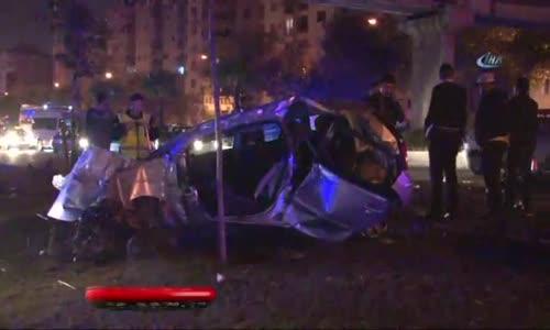 İzmir'de Feci Kaza : 2 Polisimiz Şehit, 3 Polisimiz Ağır Yaralı