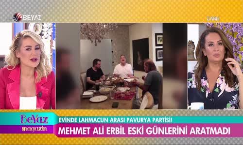 Mehmet Ali Erbil Canlı Yayında Beyaz Magazin'e Bağlandı