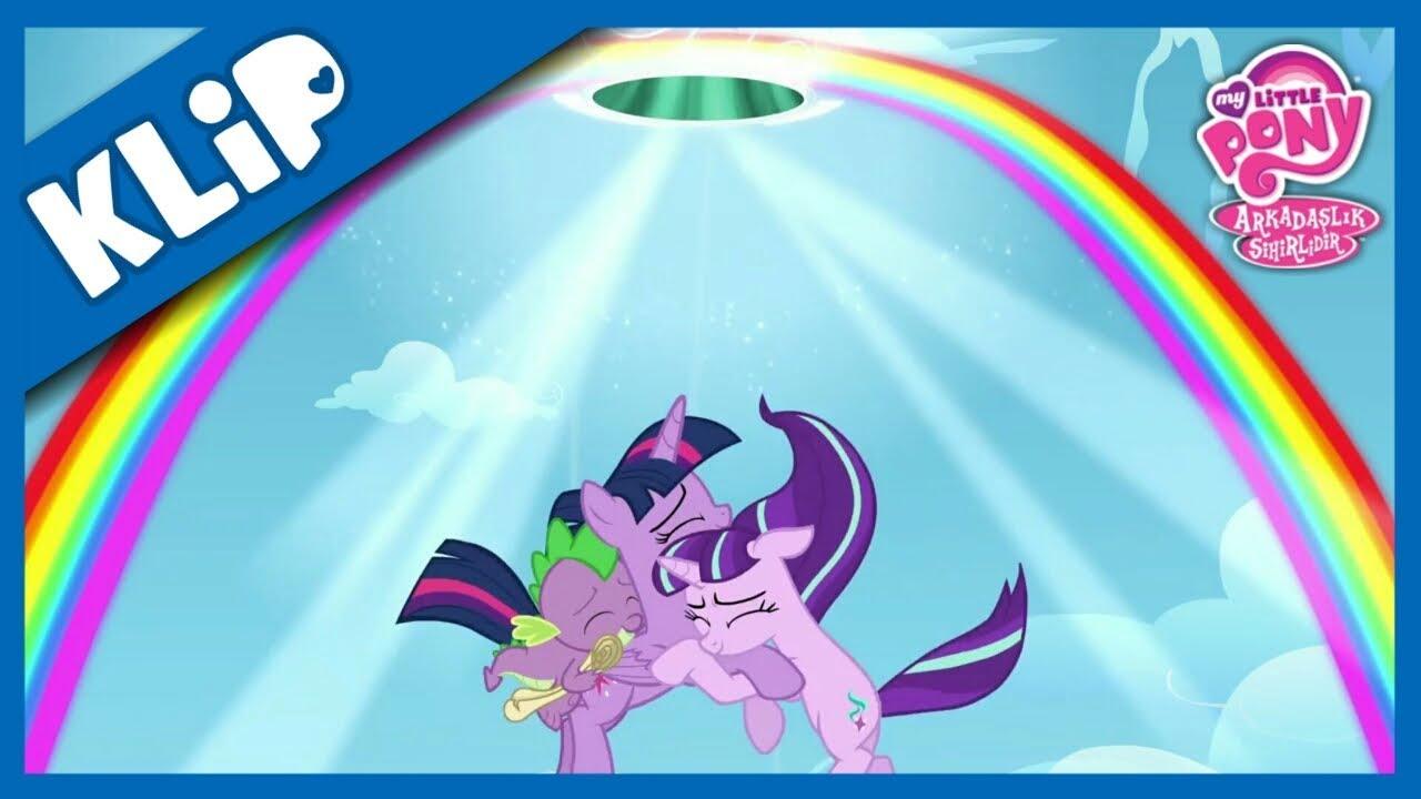 My Little Pony - Twilight Starlight'ı İkna Ediyor
