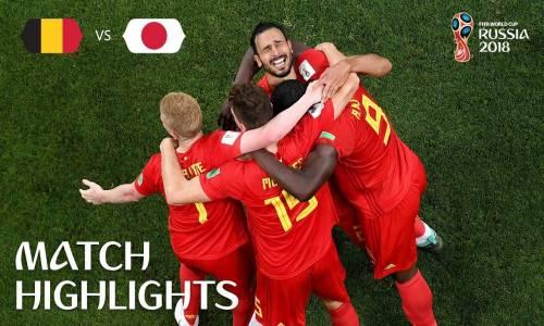 Belçika 3 - 2 Japonya - 2018 Dünya Kupası Maç Özeti