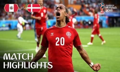 Peru 0 - 1 Danimarka - 2018 Dünya Kupası Maç Özeti