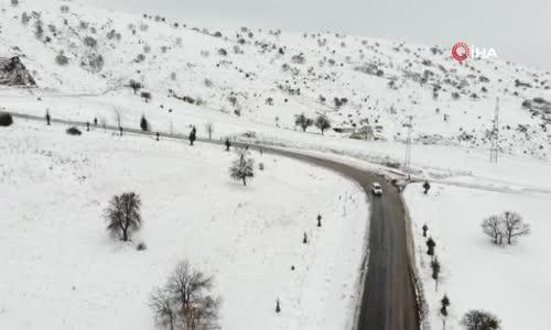 Covid-19 savaşçılarının yoğun kış şartlarında aşıyı ulaştırma serüveni