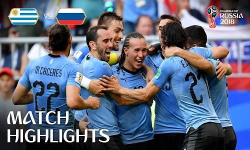 Uruguay 3 - 0 Rusya - 2018 Dünya Kupası Maç Özeti