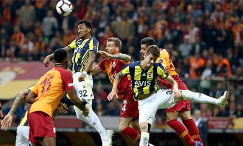 Galatasaray 2 - 2 Fenerbahçe Maç Özeti